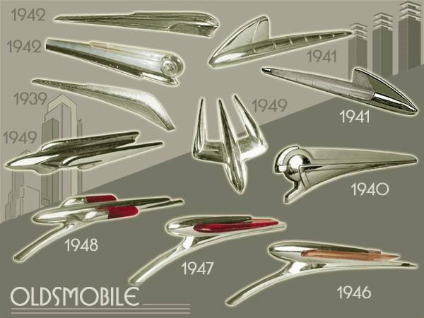 Image result for 1947 Oldsmobile Hood Ornament