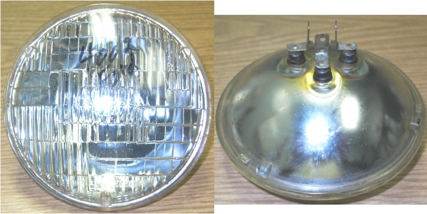 4002 56 Up Sealed Beam With Ford Script Low Headlight 5 12 Volt 3prong Used Works Fine 66 Date Code Have 0: 2b1 Sealed Beam Headlight Wiring Diagram At Gundyle.co