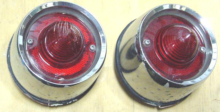 Each 58 Full-Size Chevrolet Tail Light Lens