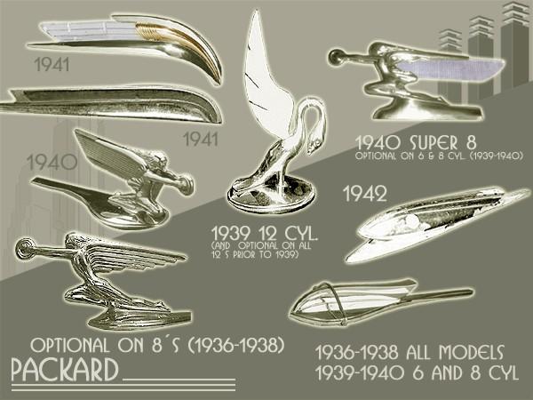 Hood Ornaments Amp Fender Lights For Ford Motor Company