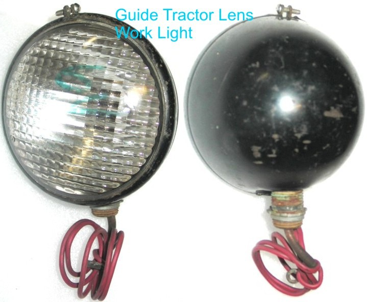 Guide Tractor Lights : Old tractor lights